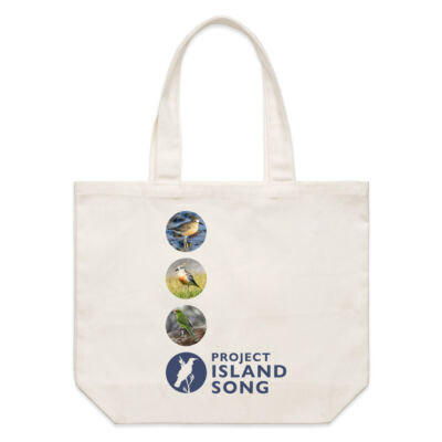 Birds - Project Island Song Tote Thumbnail